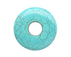 Blue Magnesite w/ Matrix Donut 40mm