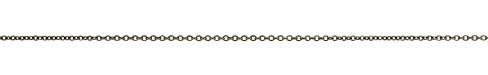 Gunmetal Small Cable Chain