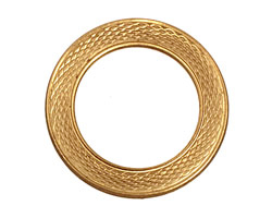 Brass Serpent Ring 31mm