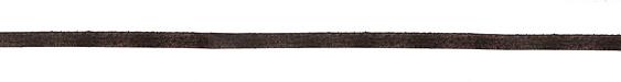 Dark Brown Vintage Flat Leather Cord 5mm