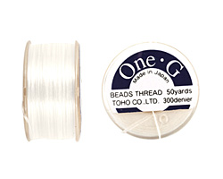 TOHO One-G White Thread