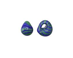 Unicorne Beads Planet Earth Teardrop 9-10x9-10mm