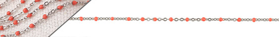 Stainless Steel Coral Small Cable Chain