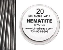 Parawire Hematite 20 gauge, 6 yards
