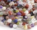 Multi Stone (Red Jasper, Amethyst, Lapis, Peridot) Tumbled Nugget 6-10mm