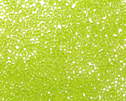 Matte Key Lime Round 11/0 Seed Bead