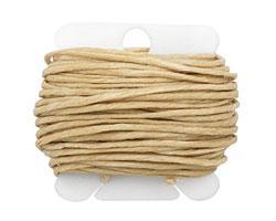 Natural Irish Waxed Linen 12 ply