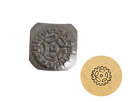 Sprocket Metal Stamp 5mm