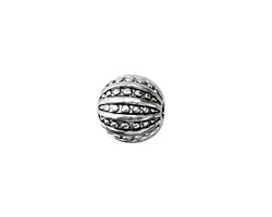 Zola Elements Antique Silver (plated) Sea Urchin Round 13mm