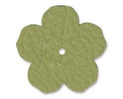 "TierraCast Avocado Leather 1.25"" Flower 32mm"