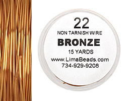 Parawire Bronze 22 gauge, 15 yards