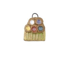 Gaea Ceramic Bouquet Charm 12-13x15-17mm