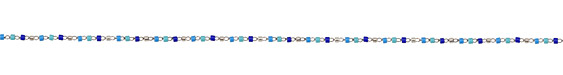 Tidal Wave Delicate Stainless Steel Seed Bead Chain