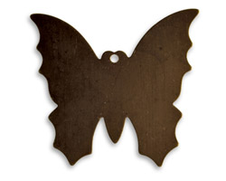 Vintaj Natural Brass Monarch Butterfly Altered Blank 34x30mm