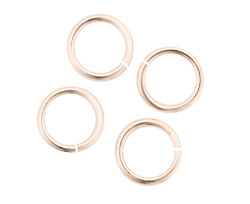 Silver (plated) Jump Ring 12mm, 13 gauge