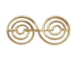 Brass Spiral 44x20mm