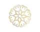 Zola Elements Opal Acetate Floral Openwork Mandala Focal 40mm