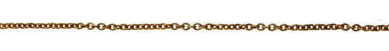 Vintaj Vogue Petite Etched Cable Chain