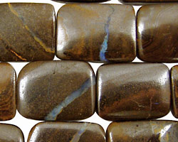 Boulder Opal Thin Pillow 20x15mm