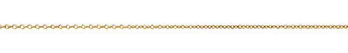 Antique Gold (plated) Small Cable Chain