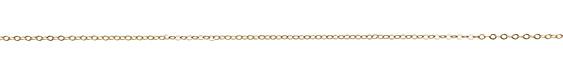 Satin Hamilton Gold (plated) Tiny Flat Oval Chain, 25ft Spool