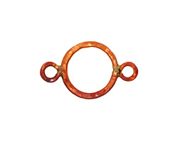 Patricia Healey Copper Small Round Link w/ 2 Loops 25x15mm