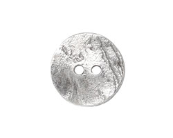 Greek Pewter Large Etched Button 20mm