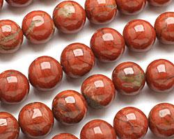 Red Bend Jasper Round 18mm