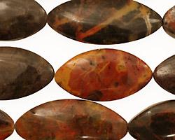Pilbara Jasper Horse Eye 25-35x14-17mm