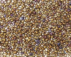 Metallic Iris Bronze Round 11/0 Seed Bead