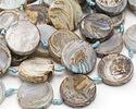 Terra Agate Flat Coin 25mm