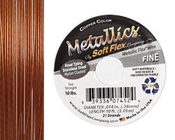 """Soft Flex Copper .014"""" (Fine) 21 Strand Wire 10ft."""