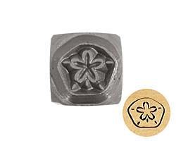 Sand Dollar Metal Stamp 6mm