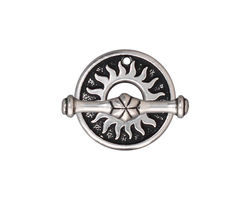 TierraCast Antique Silver (plated) Del Sol Toggle Clasp 19mm