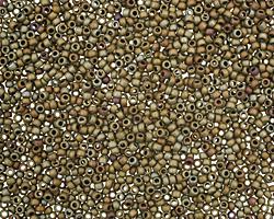 TOHO Matte Iris Brown Round 15/0 Seed Bead