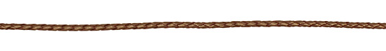 Bronze (metallic) Braided Leather Bolo Cord 3mm