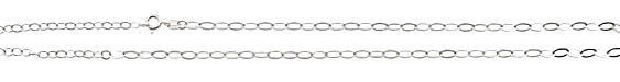 """Sterling Silver Finished Flat Oval Chain 17.5"""""""