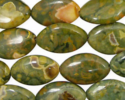 Rhyolite Horse Eye 19x12mm