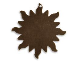 Vintaj Natural Brass Dancing Sun Altered Blank 30mm
