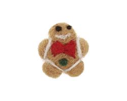 Felt Gingerbread Man 23x25mm