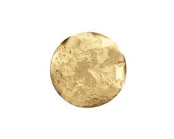 Brass Textured Wavy Coin 21mm