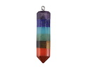 Chakra (Multi Stone) Point Pendant 10x45mm
