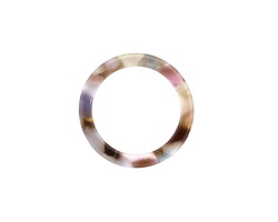 Zola Elements Garden Party Acetate Ring 24mm