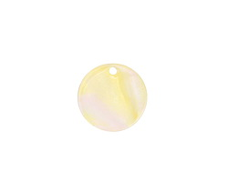 Zola Elements Opal Acetate Coin Charm 14mm