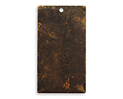 Vintaj Natural Brass Rectangle Altered Blank 18x32mm