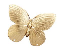 Brass Butterfly 2-2 Link 51x37mm