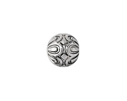 Zola Elements Antique Silver (finish) Daisy Capped Round 15mm