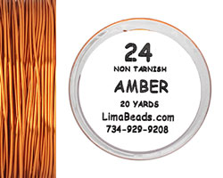 Parawire Amber 24 Gauge, 20 Yards