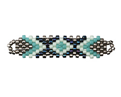 Marina Hand Woven Elongated Focal 42x14mm