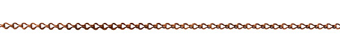 Antique Copper (plated) Ladder Chain